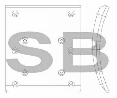комплект колодок торм. (AERO CITY) (F2) SL015 SL015