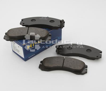 Колодки тормозные передниеHyundai Grandeur 92-98 3.0 / / Mitsu SP1068