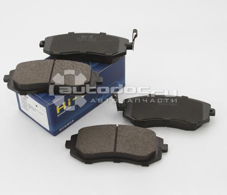 комплект колодок тормозных передних SP1367