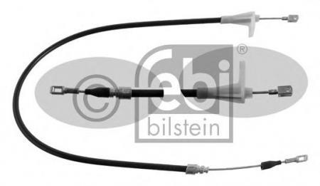 Трос стояночного тормоза W201 / 124 01666