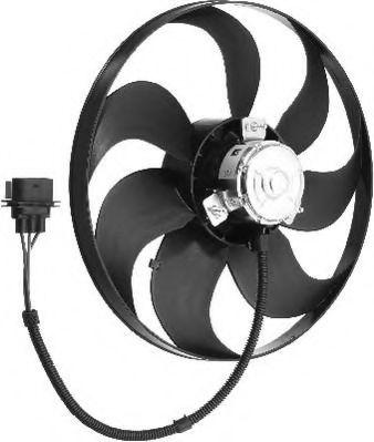 Вентилятор радиатора LE064