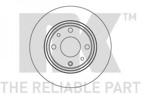 Диск тормозной передний вентилируемый ВАЗ 112 1.5 (DF4108) 202341