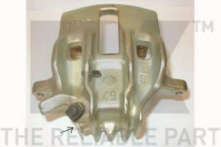 Суппорт тормозной пер.лев. Peugeot 406 1.6 / 1.8 / 1.9D / 1.9TD 95 -> Lucas d.57 213789