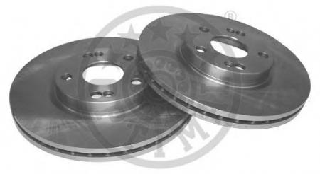 Диск тормозной передний вентилируемый LAGUNA OPTIMAL BS-3010