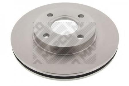 Диск тормозной передний вент.FORD Focus 98-04, Fusion, MAZDA 2 (MAPCO) 15826