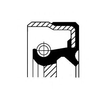 Сальник редуктора 01019477