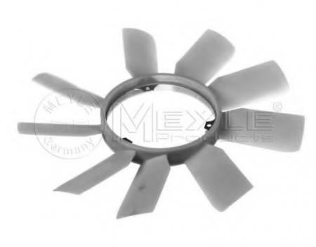 Крыльчатка термомуфты [3-болта, 9-лопаст.] для MERCEDES W124 / W126 / W201 двигатели M103 0140200019
