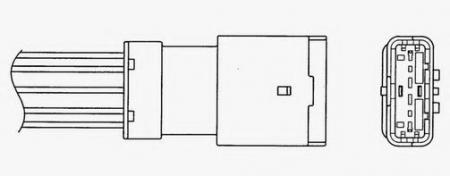 Лямбда-зонд (датчик кислорода) NGKЛямбда-зонды<br><br>