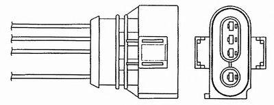 Лямбда-зонд (кислородный датчик) 0494