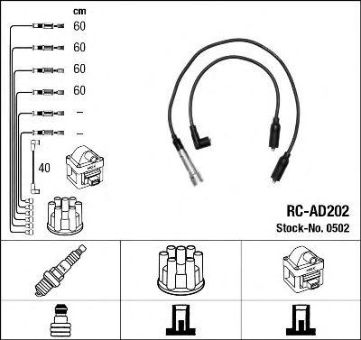 Высоковольтные провода 0502
