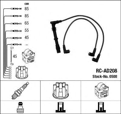 Высоковольтные провода 0508