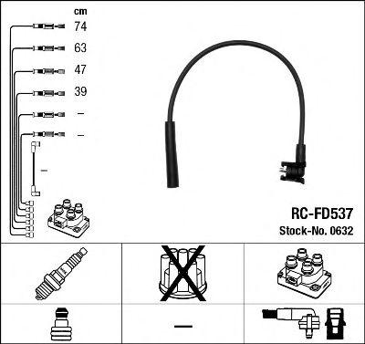 Высоковольтные провода 0632