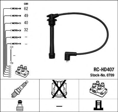 Высоковольтные провода 0709