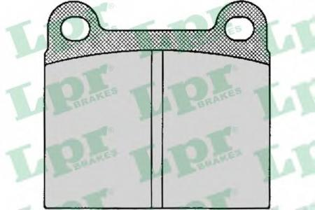 Тормозные колодки дисковые LPRТормозные колодки<br><br>