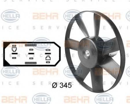 Вентилятор, охлаждение д 8EW009144-591