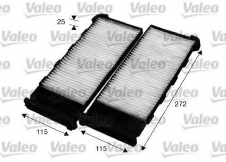 Салонные фильтры VALEOФильтры салона<br><br>