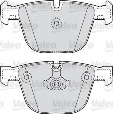 Тормозные колодки дисковые VALEOТормозные колодки<br><br>