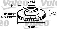 Тормозные диски VALEOТормозные диски<br><br>