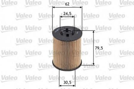 Фильтры масляные двигателя VALEO