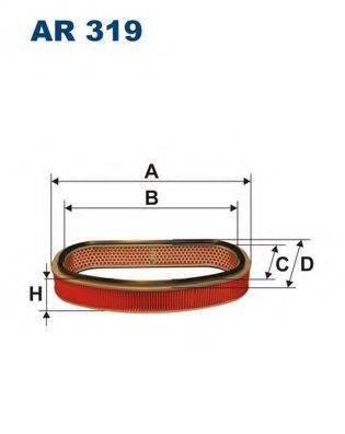 Фильтр воздушный двигателя FILTRONФильтры воздушные двигателя<br><br>