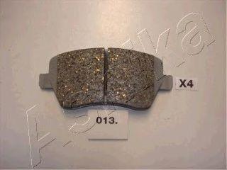 Колодки тормозные передние к- т NISSAN MICRA (K12) 1.0 16V NOTE 41060-AX625 50-00-013
