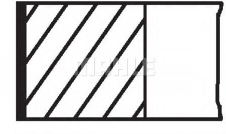 Комплект колец 79, 00mm для Lada 2101, 2105 1.3 / 2106, 2107 1.6 44815N0