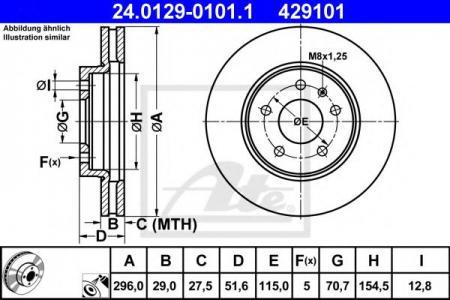 Тормозные диски ATEТормозные диски<br><br>