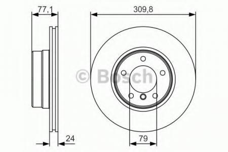 Тормозные диски BOSCHТормозные диски<br><br>