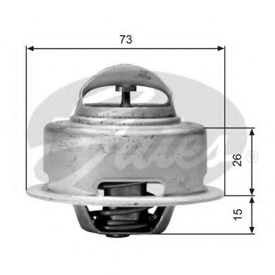 Термостат TOYOTA LAND CRUISER TH01591G1