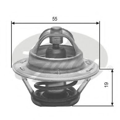 Термостат CITROEN/PEUGEOT TH12389G1