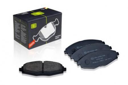 Колодка торм. пер. диск. для а / м Daewoo Matiz (98- PF051301