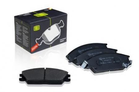 Колодка торм. пер. диск. для а / м Hyundai Accent (9 PF084101