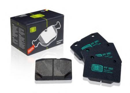Колодки тормозные 2101-07 передние дисковые (комплект 4 шт) PF-966