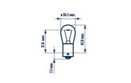 Индикаторные лампы для Stop P25 12V-18W (BA15s) 17511