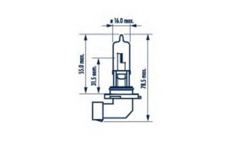 Лампа галогенная 48616