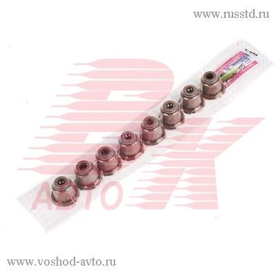 Колпачки маслосъемные Москвич комплект 412-1007027