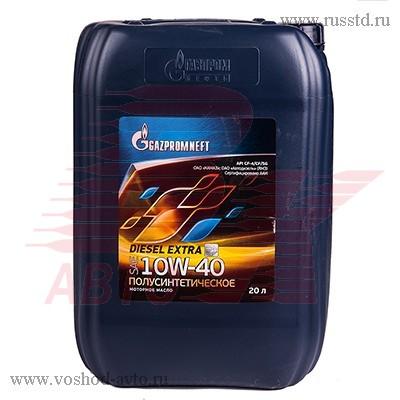 Масло Gazpromneft Diesel Extra 10W-40 мот диз п / с (20л) 2389901229