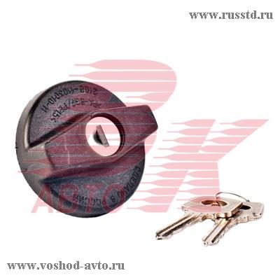 Крышка б / бака ВАЗ 2108-09 с ключом в блистере ГрандРиАл 2108-1103010 / 21080110301000