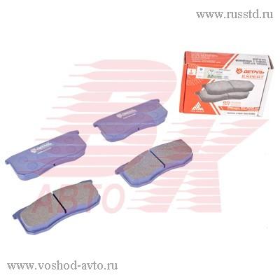 Колодка тормозная передняя УАЗ-3163, 31519 Хантер (4 шт.) (Автодеталь-Сервис) 3160-3501090
