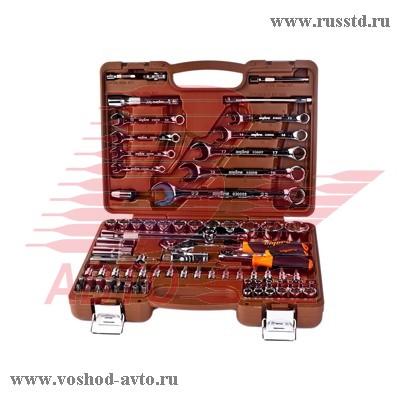 OMT82S Универсальный набор инструмента с 12-гр. головками 1 / 2DR и 1 / 4DR, 82 предмета OMT82S