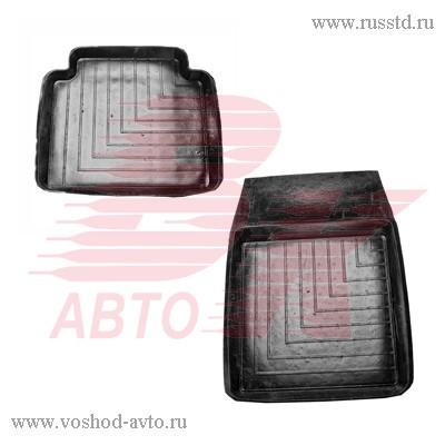 Коврики салона ВАЗ 2101-07 резиновые с литой перемычкой АГАТЭК VSK-00066498