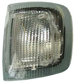 Указатель поворота фары Г-31029, 3110, 3302(левый) белый () ОСВАР без лампы, 3502.3726-02