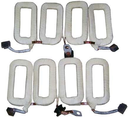 ОБМОТКА (СТАТОР) СТАРТЕРА ДВ.406 БОРИСОВ, 42.3708110
