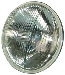 Оптический элемент под галоген.лампу, с отсекателем, с подсветкой  (оптика) (ан.131.3711200) Все грузовые а/м, ВАЗ-21011, , ТН 124