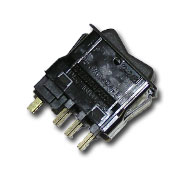 Клавишный переключатель (вентилятор отопителя)  Г-3310, ПАЗ, , 82.3709-04.09