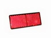Световозвращатель прямоугольный, с защелкивающимся элементом  (ан.3002.3731) красн. , , 3032.3731