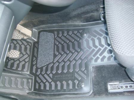 VW Passat (B6) (2005-2010) коврики в салон (3D с подпятником)