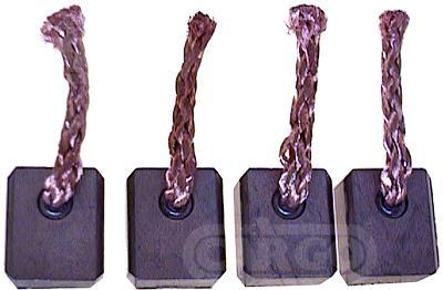 Щетки стартера (7 7115 1=7 7315 1=131184c) Bosch 9x16x17 12V Aud BSX97F4