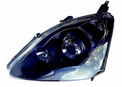 Фара л. электр. Honda Civic all 04 -> 3 door / 5 door Type R 217-1151L-LD-EM