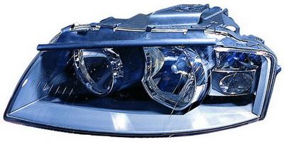 Фара лев.электр. Audi A3 all models 03 -> 441-1164L-LD-EM